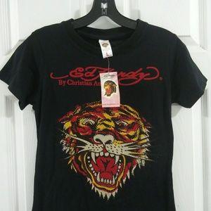 Ed Hardy T-Shirt Sz. L